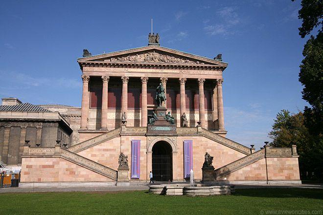 Alte Nationalgalerie, Museum Island