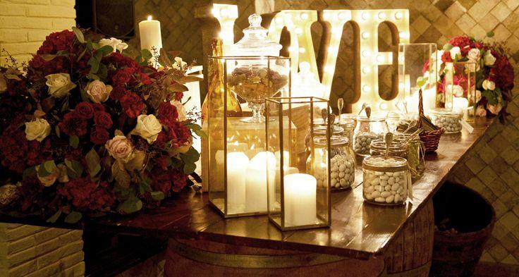 sweet table fiori Federica Ambrosini