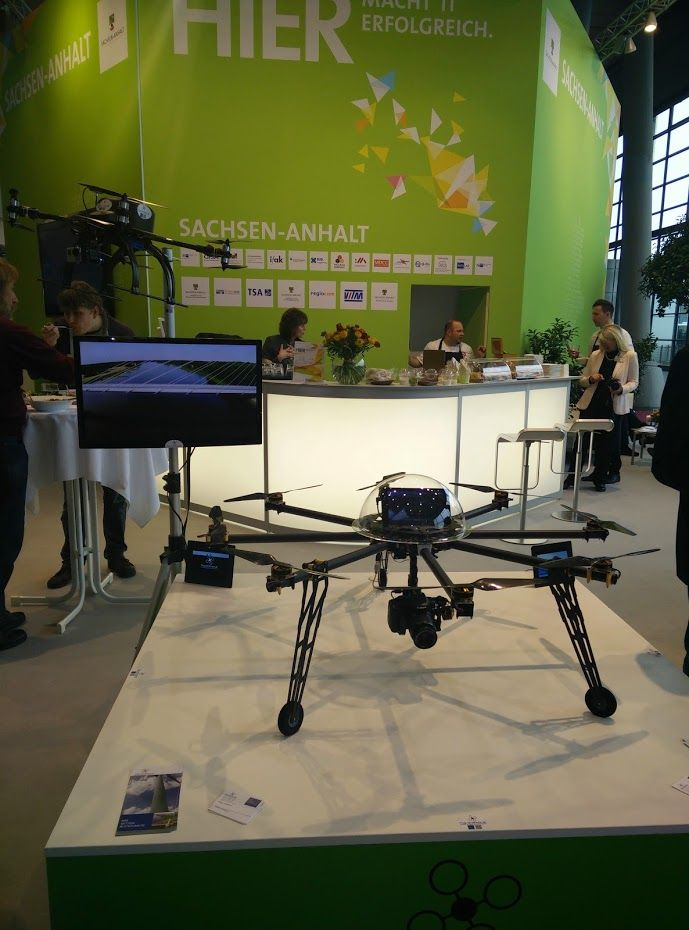 Drone at CeBIT 2015, Taken March 16, 2015