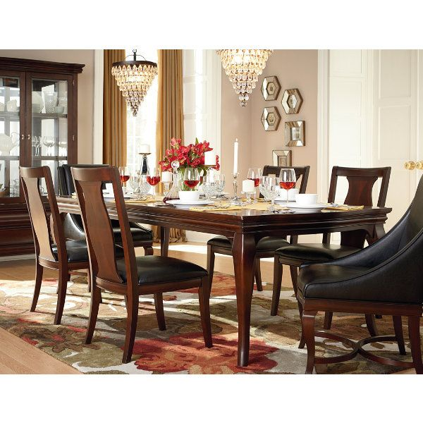 Formal Dining Doesnu0027t Have To Be Stuffy Or Boring. Helena Features A  Beautifully Shaped, Roomy Table Thatu0027s Equal Parts And Comfortable.