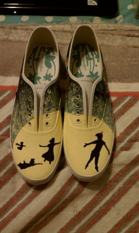 Original Peter Pan Shoes Size 9 by DisneysPpan on Etsy, $80.00