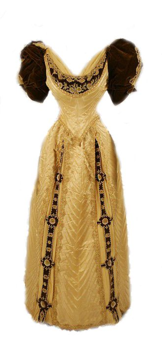 Victorian gown. I have no idea when you would have an occasion to where this but if it is a remote possibility then you need this dress!
