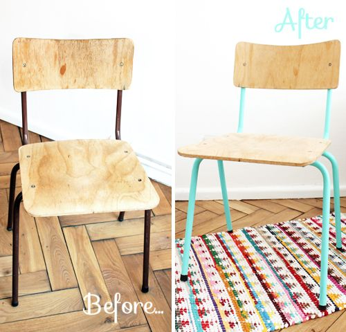 mumu zuzu diy relooker une chaise en bois et m 233 tal diy metals and diy and crafts