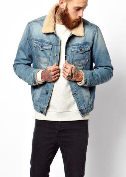 Veste en jean sans manche femme asos
