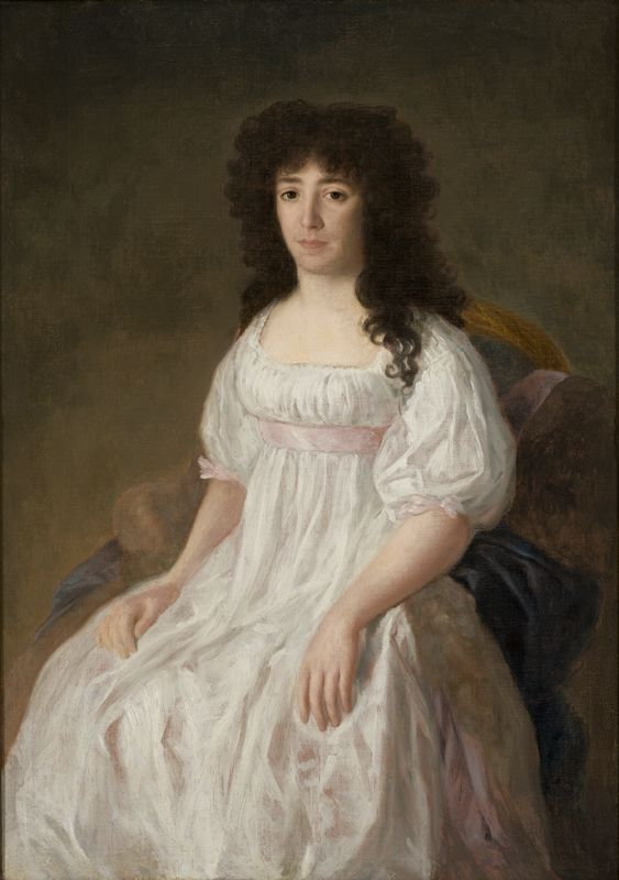 Francisco de Goya - Portrait of the Countess of Casa Flores