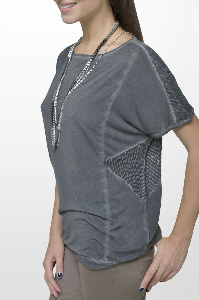 Sarah Lawrence - short sleeve blouse, five pocket straight leg pant.