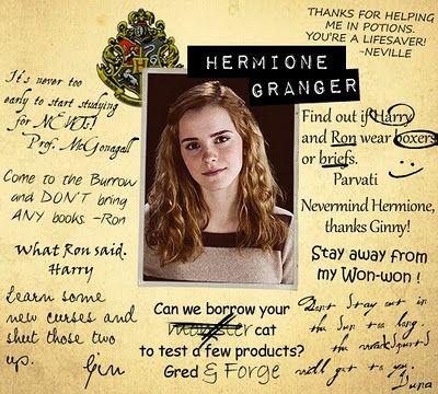Hermione Granger Yearbook