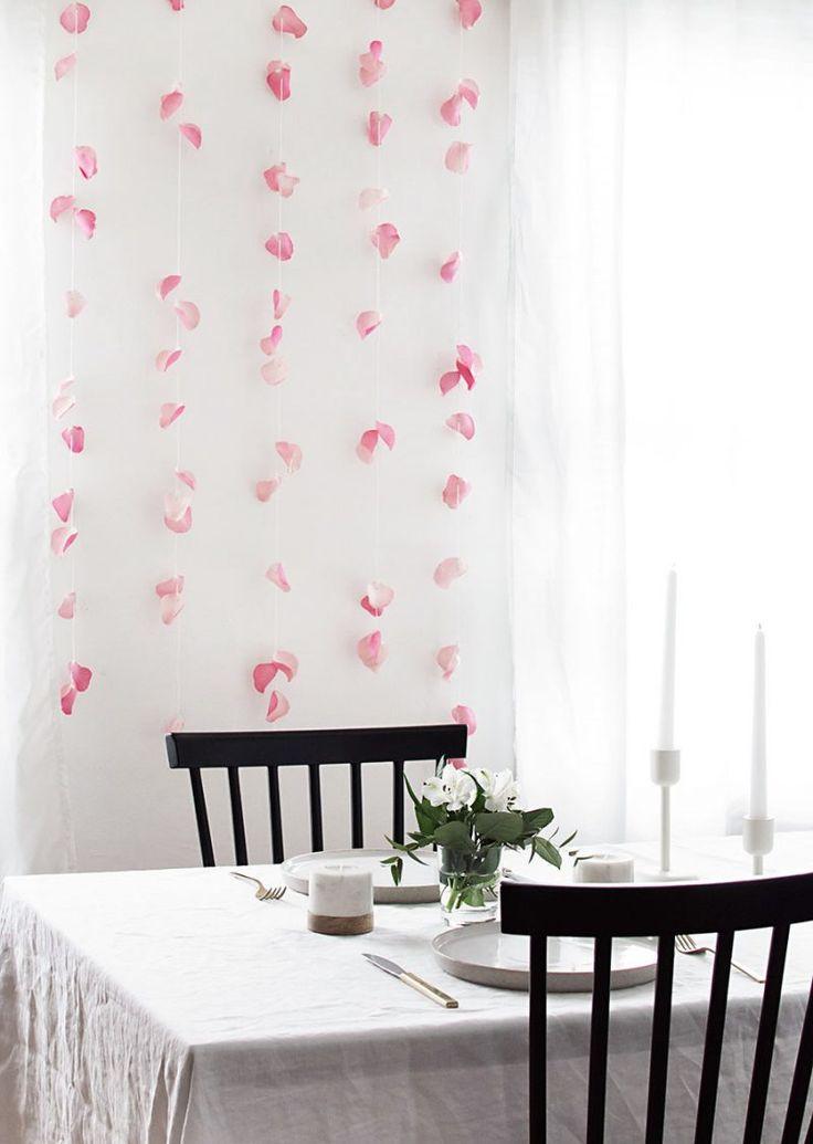 53 minimalistische diy deko ideen fr moderne wohnzimmer - Gelbe Dekowand Blume Fr Wohnzimmer