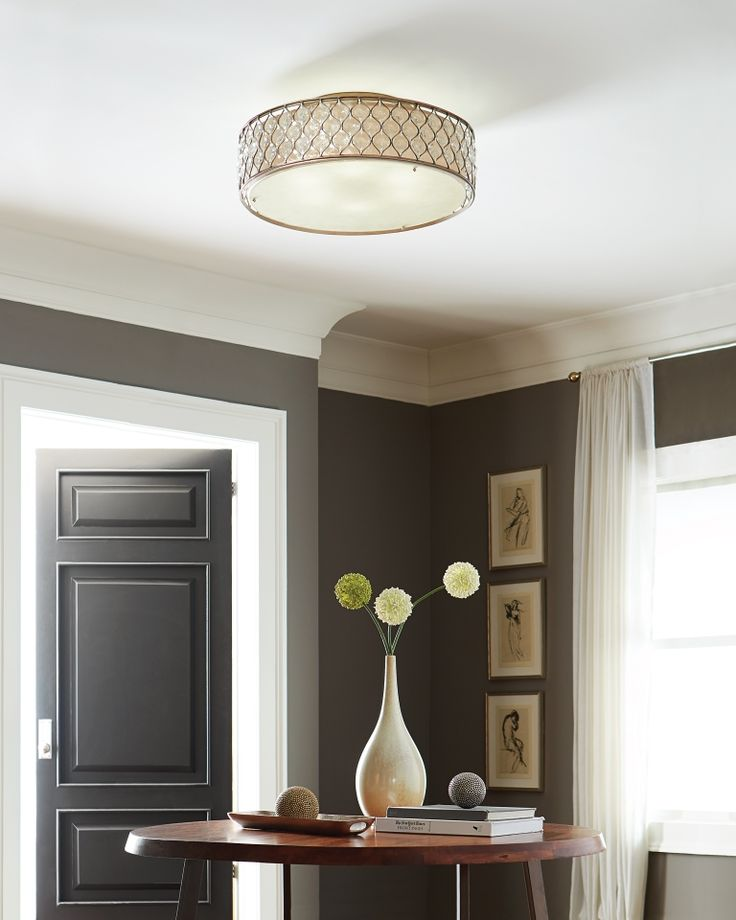 For Limited Ceiling Height Or When You 39 D Like An Obstructed View Consider Installing An