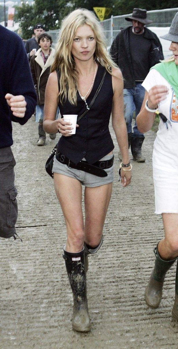Kate Moss ve müzik festivalleri…