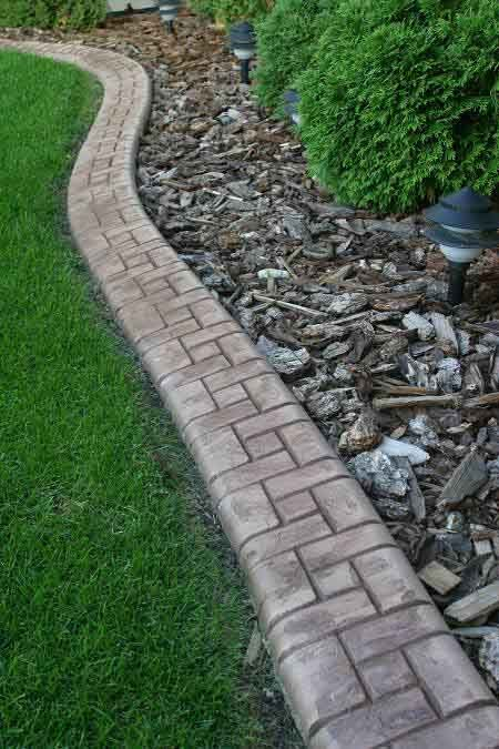 Samples Of Landscape Curbing And Edging Cutting Edge