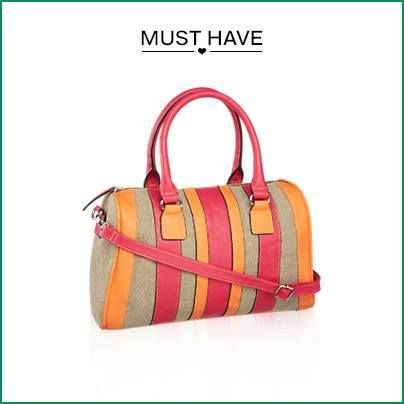 Perfekt für einen entspannten #Shoppingtag geeignet oder?  http://mu.cx/7df505 #Bag #Handtasche #accessoire #damen #mode #Deichmann #Schuhe #Trendfarben