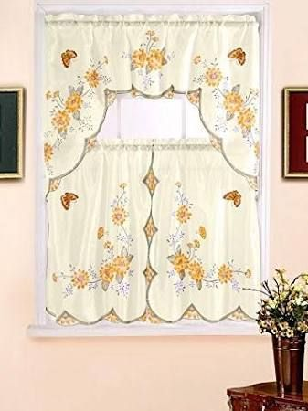 best 25 yellow kitchen curtains ideas on pinterest yellow apartment curtains blue yellow kitchens and red curtains next