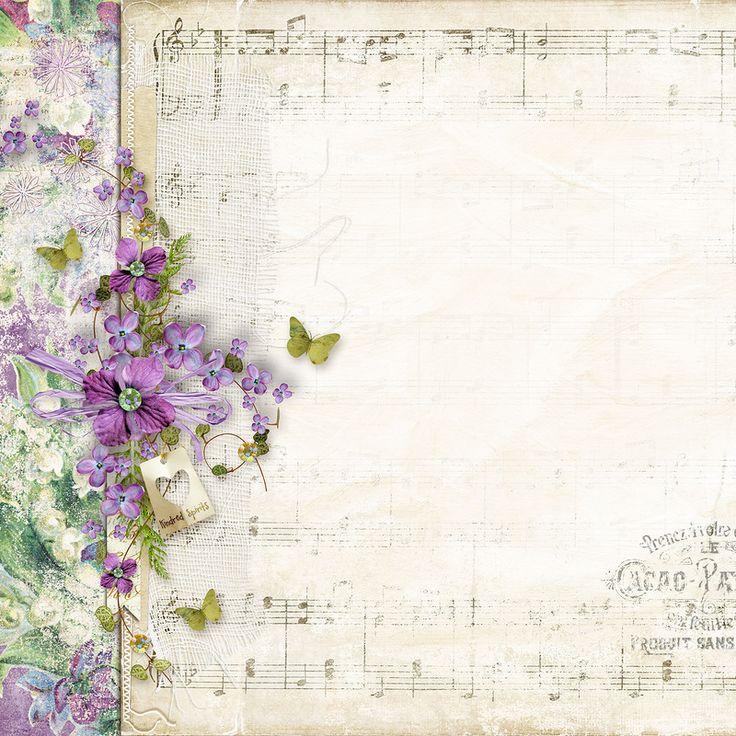 Image du Blog zezete2.centerblog.net - beautiful purple floral border