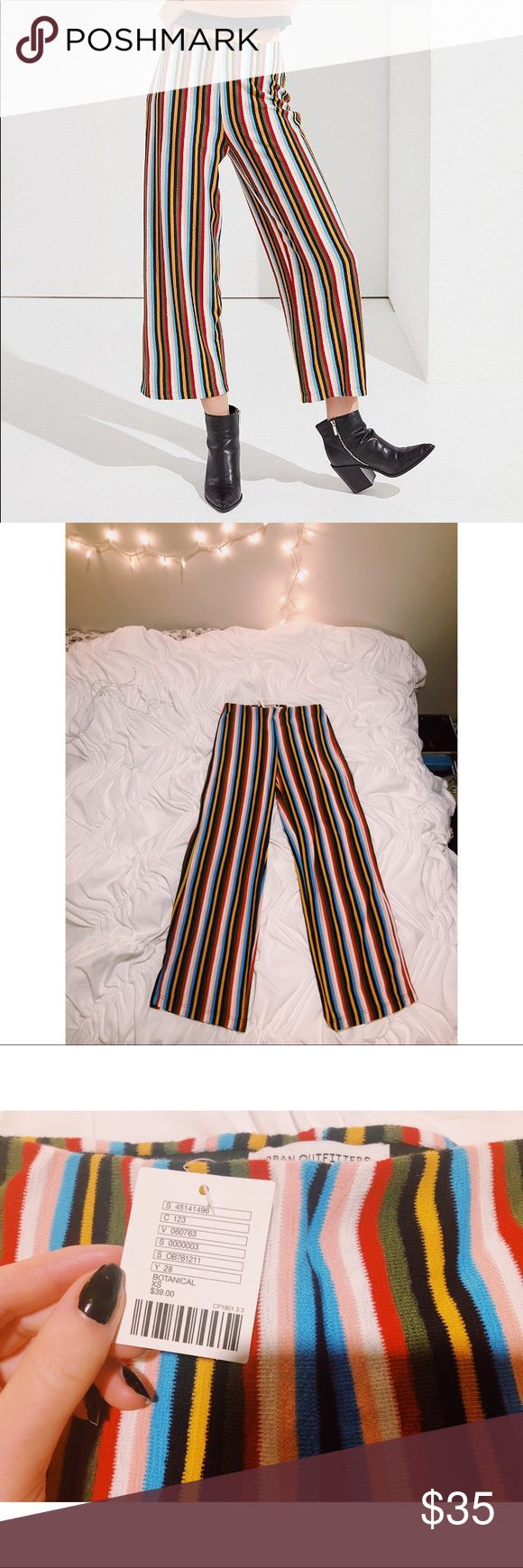 Urban outfitters ant knit cropped pant nwt in my posh picks
