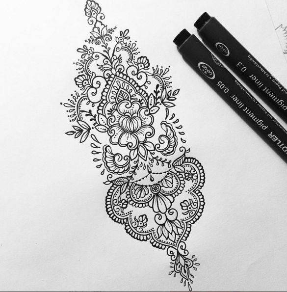 Tatto Ideas 2017 Olivia-Fayne Tattoo Design EYE CANDY