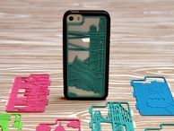 Get a one-of-a kind iPhone case 3D-printed just for you Sure, 3D printing is being used to create things like prosthetic fingers and hips, but why not use it for something that really matters: an iPhone case you designed?