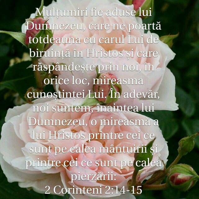 2 Corinteni 2:14-15