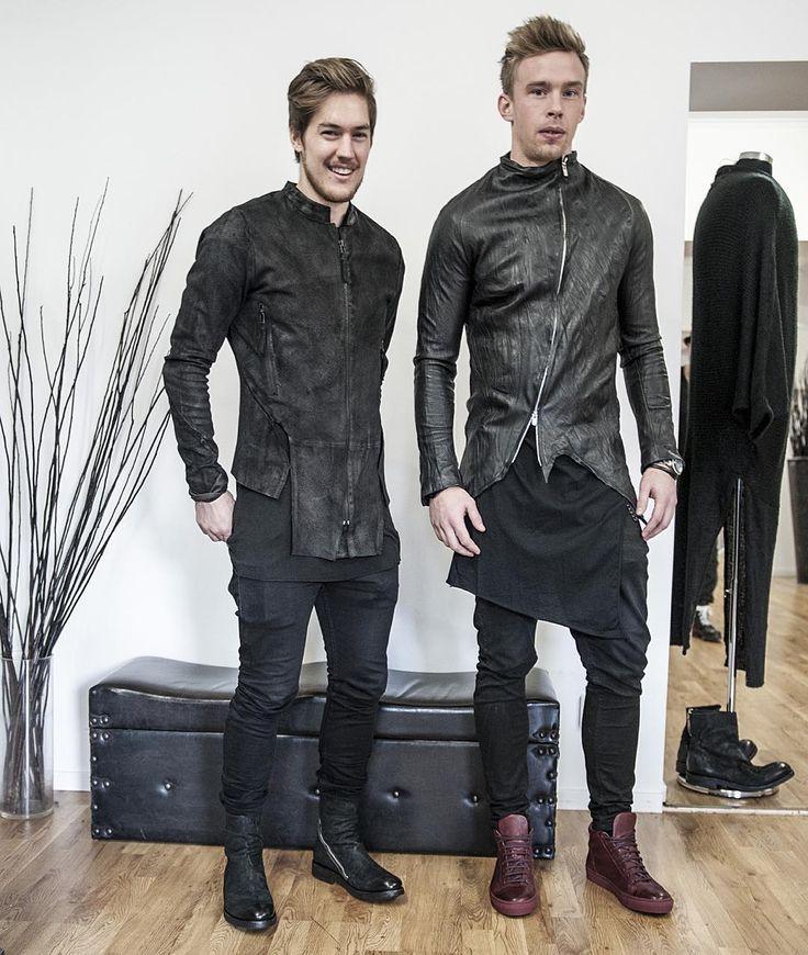 """@skoldvictor @addegram #stilettmenswear #atelieraura #barbaraigongini #thelastconspiracy #lentrian"""