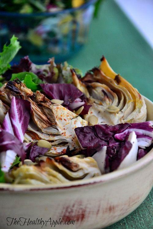 Feel Good Roasted Fennel Salad #glutenfree