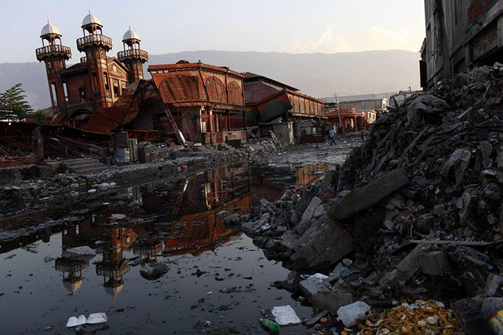 Haiti: 2010 post immediate earthquake and now via @guardian. Here is in aftermath.