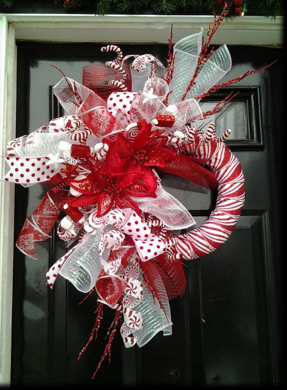 FESTIVE CANDY CANE Peppermint-Themed by SparetimeSpecialties