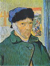 Autoportrait à l'oreille bandée, 1889.