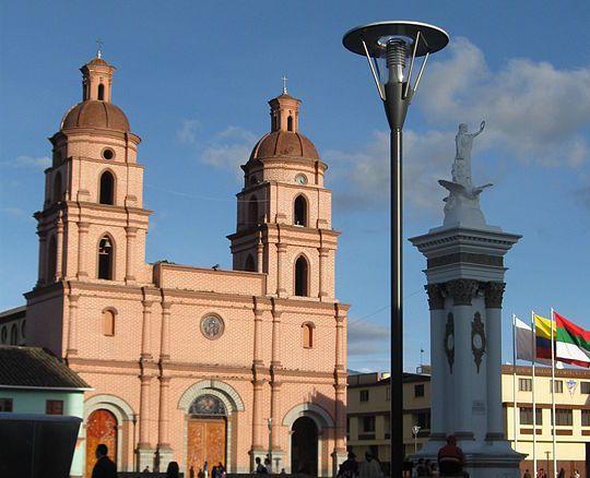 Placa Veinte de Julio, Catedral de Ipiales, efígie de la independência