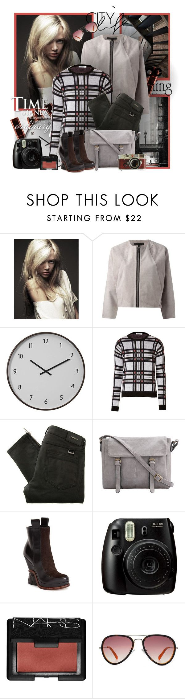 """№ 507"" by olga3001 ❤ liked on Polyvore featuring Chloé, dVb Victoria Beckham, Crate and Barrel, Jil Sander, Belstaff, Fendi, Fujifilm, Leica, NARS Cosmetics and HOOK LDN"