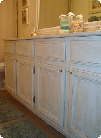 painting bathroom vanities