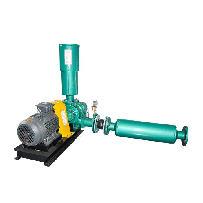 Roots Blower Air Cleaners : Roots blower used for breeding ponds type air