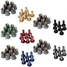 Screen Screw Kit - Gold - Gear Gremlin Motorcycle Accessories $11.99   (Click on image for item details or to purchase online)