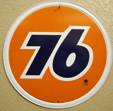 UNION 76 Antique Vintage Look Gas Pump Car Truck Oil Advertising Metal Sign
