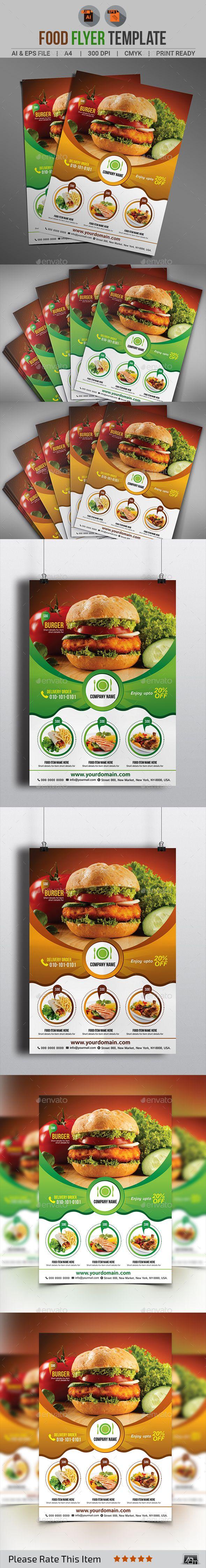 Food Menu Flyer - Download…