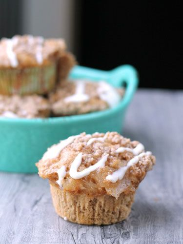 These Apple Spice Muffins take just 15 minutes to prepare thanks to spice cake mix and apple pie filling. Get the recipe »