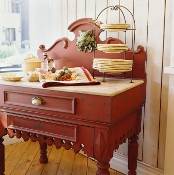 Country Homes: French Pastry Table