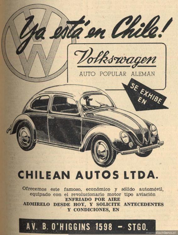 Volkswagen 113 Escarabajo (década 1950)