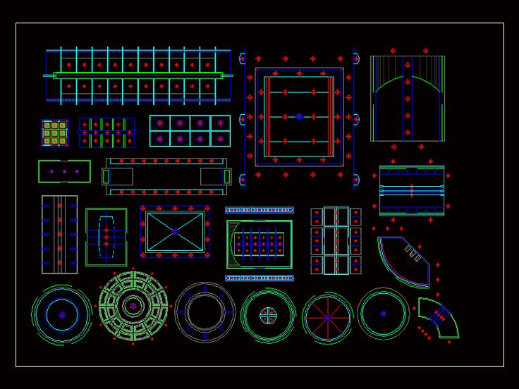 Ceiling (dwgAutocad drawing)
