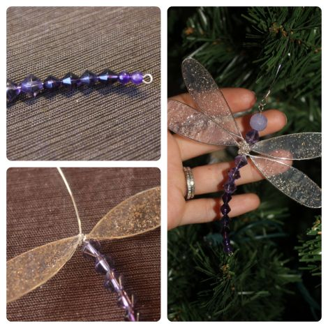 Diy Dragonfly Charm Wings Wire And Wraps