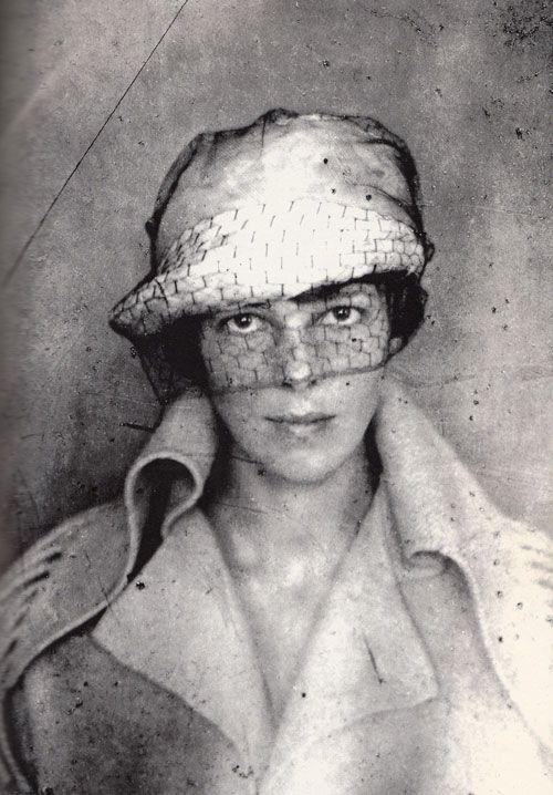 Amelia Earhart, self portrait, date unknown