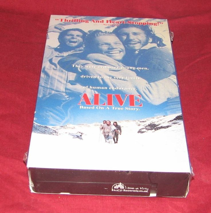 Alive (VHS, 1993) Ethan Hawke   NEW! Sealed! Rated R
