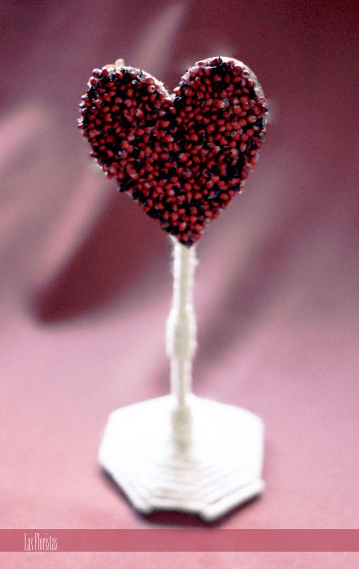Bridal Table Heart