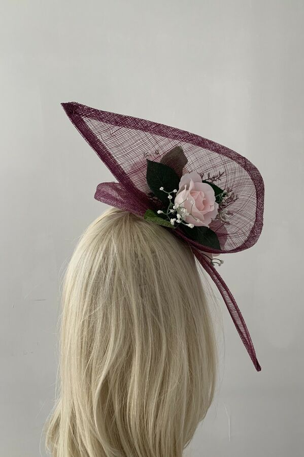 4794411b08266 New Design Rose Pink Flower Fascinator Mother Of The Bride Groom Weddings  Ascot
