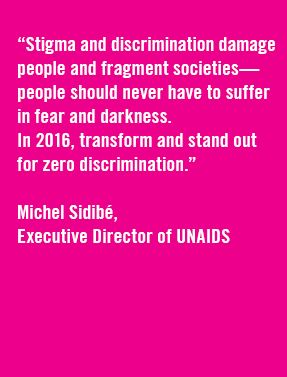 2016 Zero Discrimination Day | UNAIDS