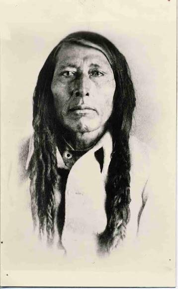 Chief Poundmaker [Pitikwahanapiwiyin] Cree - 1885