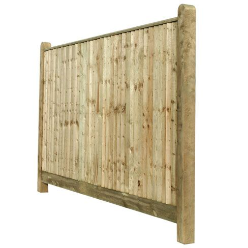 Closeboard fencing with capping has an extra counter rail and capping rail for greater strength over standard close board fencing or feather edge fencing.