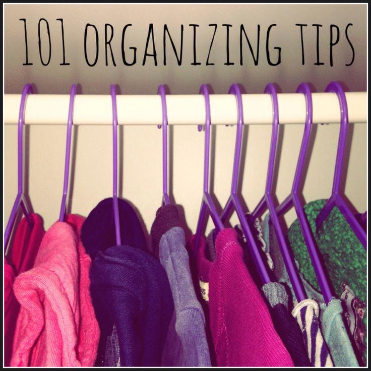 101 organizing tips voor een opgeruimd huis met kids #leukmetkids #organizing #opruimen #kinderen #organising