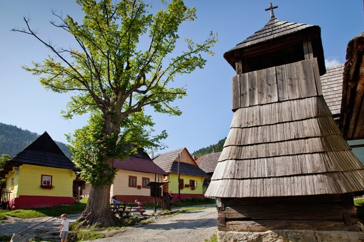 Vlkolínec village (UNESCO) is an extraordinary and remarkable oasis of folk architecture located in the foothills of Veľká Fatra Mts. National Park. Classified as the best-reserved settlement of this time within the Carpathian Arch. Originally it was the settlement of loggers, shepherds and farmers.