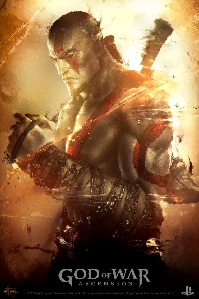 God Of War Ascension Wallpaper Shows A Kratos Full Of Remorse