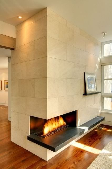 31 best Fireplace Surrounds images on Pinterest | Concrete fireplace ...